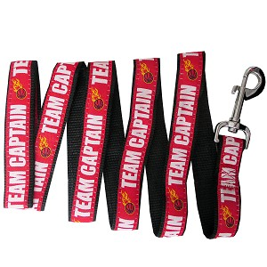 BasketBall Pet Leash Red Large