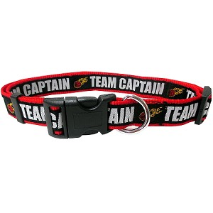 BasketBall Dog Collar Black Small