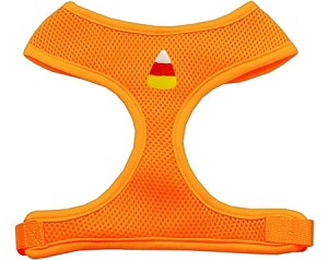 Candy Corn Chipper Orange Harness Large