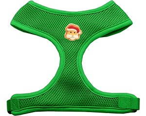 Santa Face Chipper Emerald Harness Medium