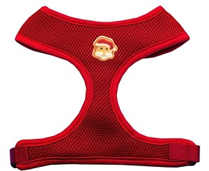 Santa Face Chipper Red Harness Small