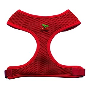 Red Cherry Chipper Red Harness Medium