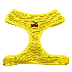 Red Cherry Chipper Yellow Harness Large