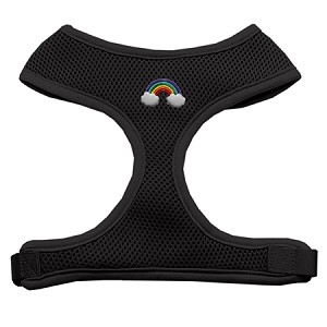 Rainbow Chipper Black Harness Large