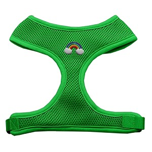 Rainbow Chipper Emerald Harness Large