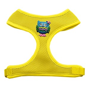 Blue Owls Chipper Yellow Harness Small