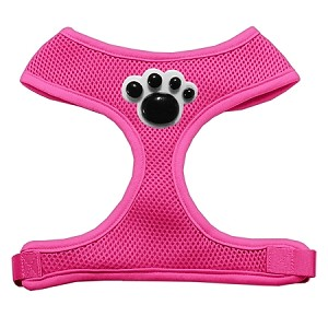 Black Paws Chipper Pink Harness Large