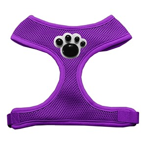 Black Paws Chipper Purple Harness Small