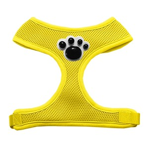 Black Paws Chipper Yellow Harness Large