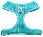 Easter Bunny Chipper Aqua Harness Small