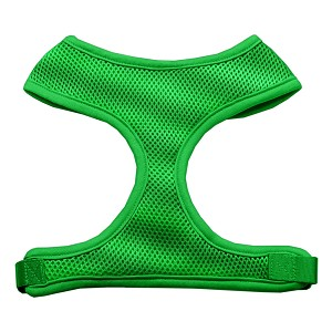 Soft Mesh Harnesses Emerald Green X-Large