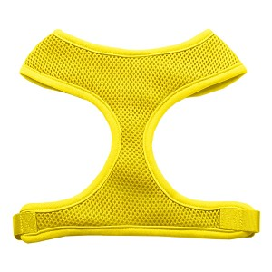 Soft Mesh Harnesses Yellow Medium