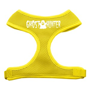 Ghost Hunter Design Soft Mesh Harnesses Yellow Extra Large
