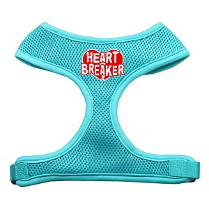 Heart Breaker Soft Mesh Harnesses Aqua Small