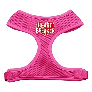 Heart Breaker Soft Mesh Harnesses Pink Medium