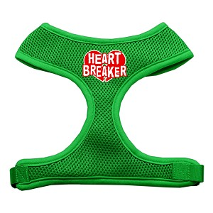 Heart Breaker Soft Mesh Harnesses Emerald Green Large