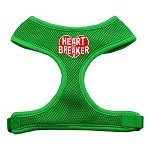 Heart Breaker Soft Mesh Harnesses Emerald Green Extra Large