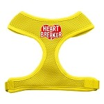 Heart Breaker Soft Mesh Harnesses Yellow Small