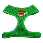 Kiss Me Soft Mesh Harnesses Emerald Green Small
