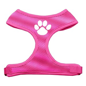 Paw Design Soft Mesh Harnesses Pink Large