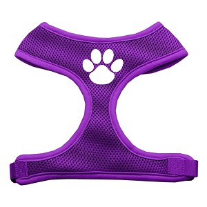 Paw Design Soft Mesh Harnesses Purple Small