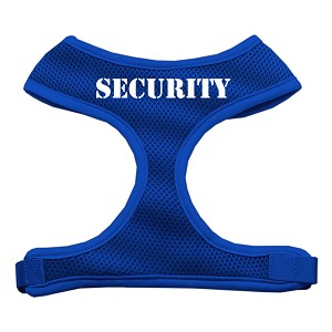 Security Design Soft Mesh Harnesses Blue Large