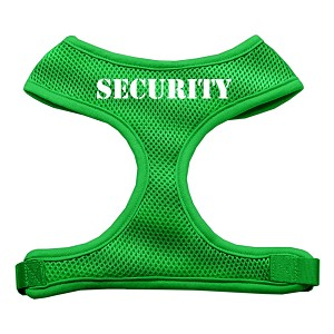 Security Design Soft Mesh Harnesses Emerald Green Large