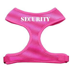 Security Design Soft Mesh Harnesses Pink Small