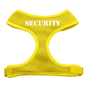 Security Design Soft Mesh Harnesses Yellow Small