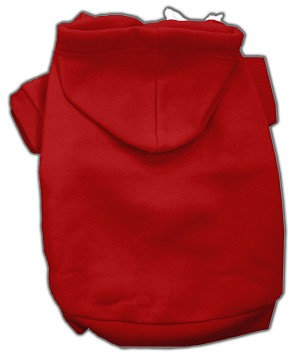 Blank Hoodies Red XXL (18)