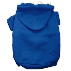Blank Hoodies Blue Size XL (16)