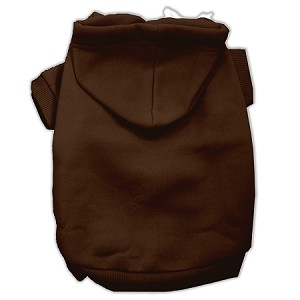 Blank Hoodies Brown Size L (14)