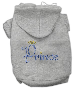 Prince Rhinestone Hoodies Grey XL (16)
