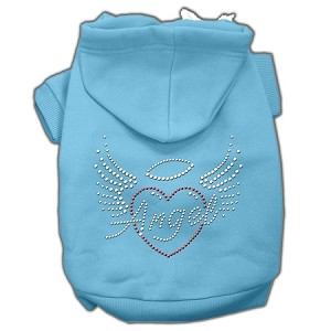 Angel Heart Rhinestone Hoodies Baby Blue L (14)