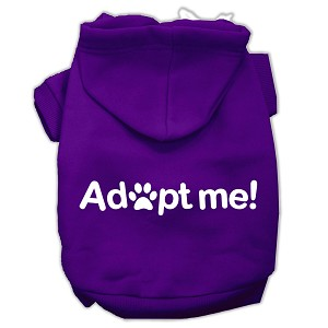 Adopt Me Screen Print Pet Hoodies Purple Size XXXL (20)