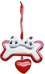 Cutie Paw Christmas Ornament