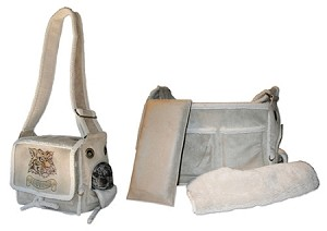 Natural Sherpa Pony Express Airline Pet Carrier