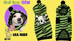 Skull Envy Pet Sweater Size SM