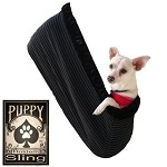 Plain Puppy Holdem Sling Black Pinstripe w/ Black trim Size Sm/Md