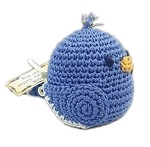 Knit Knacks Blueberry Bill Organic Cotton Small Dog Toy