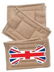 Peter Pads Size SM British Bone Flag 3 Pack