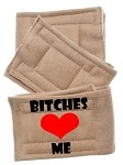 Peter Pads Size XS Bitches Love Me 3 Pack