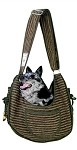 Puppy Pouch Sling Private Stripes