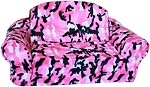 Pink Camo Pull Out Pet Sleeper Sofa Bed