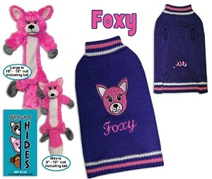Foxy Pet Sweater Size SM