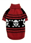 Happy Skull Pet Sweater Size SM