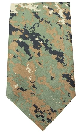 Plain Patterned Bandana Digital Camo