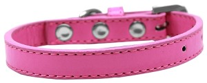 Wichita Plain Dog Collar Bright Pink Size 10