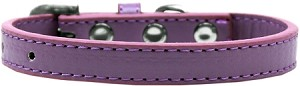 Wichita Plain Dog Collar Lavender Size 14