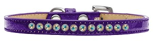 AB Crystal Size 12 Purple Puppy Ice Cream Collar